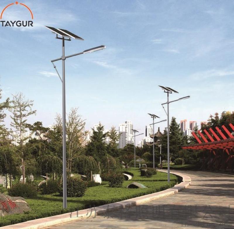8米太陽能路燈 新農村照明燈,LED路燈照明