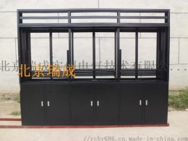 定制监控电视墙机柜 拼接大屏支架 拼装落地机柜