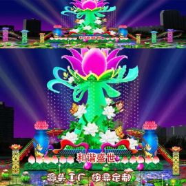 20**型春节彩灯大型花灯厂家寻求场地合作
