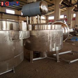 鑫富供应,立式蒸汽不带搅拌夹层锅,炒锅