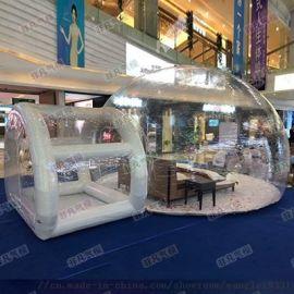 大型充气透明泡泡屋_充气pvc卡通玩具厂_气模厂家