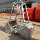 厂家直销电动马达抓斗 不锈钢抓斗码头垃圾废钢矿石