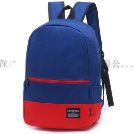 订做生产双肩背包书包