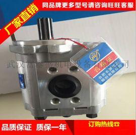 叉车 齿轮泵 CBF-F432-ALH长L 长轴 6花键 左旋 现代齿轮泵