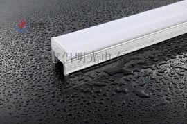 铝底灌胶数码管LED护拦管工程 定制产厂家找倡明光电