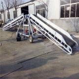 爬坡式擋板皮帶運輸機 格擋式大棗核桃運輸機