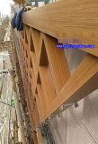 仿木纹铝通 宿迁木纹铝方通 木纹铝型材厂家