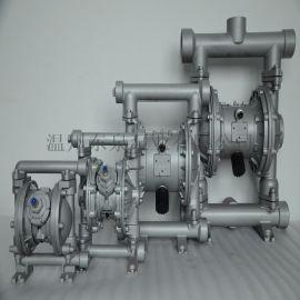 QBY3-20铝合金材质气动隔膜泵,隔膜泵厂家