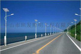 广东中山户外太阳能路灯市电路灯照明灯具厂家非标定制