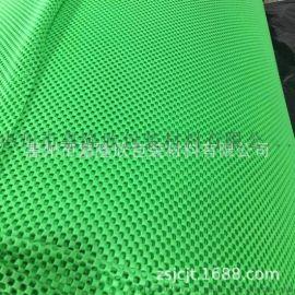 超市水果垫 货架防滑垫 果绿色方格发泡网