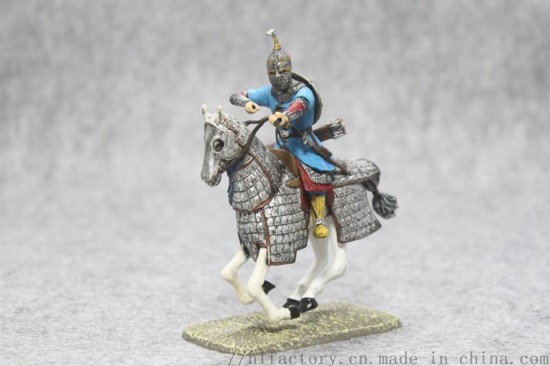 廠家定製戰馬玩具擺件羅馬復古風格玩具