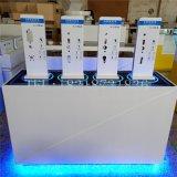 科徕尼智能锁展示柜圆形发光指纹锁展示柜密码锁展柜锁具展架
