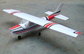 手工賽斯纳像真模型飞机