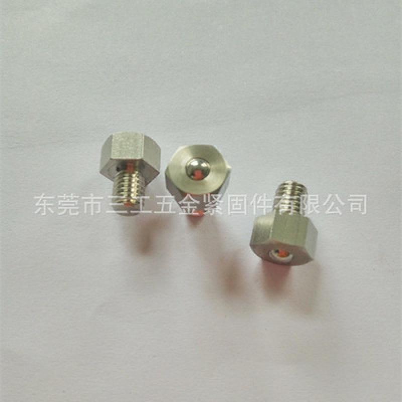 六角螺栓型MISUMI标准不锈钢BCHL、钢珠滚轮