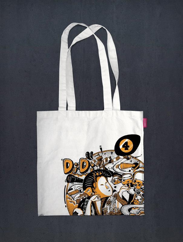 全棉帆布袋定做logo創意環保手提卡通學生袋棉布袋