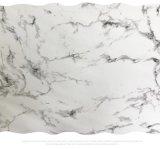 魚肚白爵士白大理石紋臺面紙底部無膠可噴漆