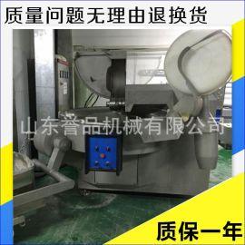 大型自動出料刀速變頻調速魚豆腐拉絲斬拌機 配有防水設備 斬拌機
