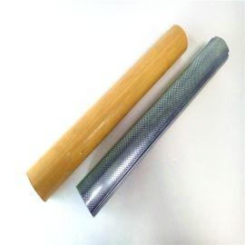 衝孔鋁圓管鋁天花弧形吊頂圓形鋁方通木紋型材圓管