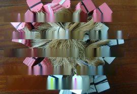 园艺大棚带线PVC 防水标签园艺标牌  耐水耐晒 重复使用