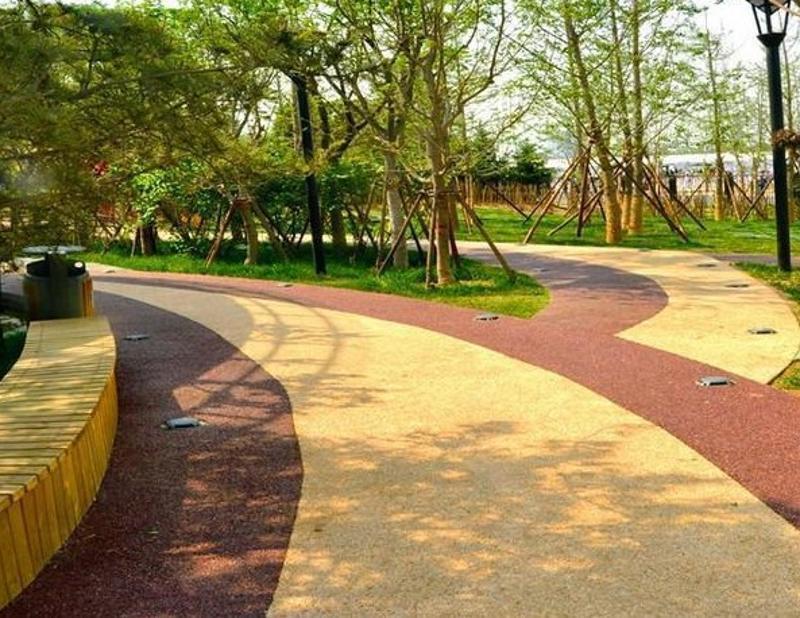 彩色透水混凝土增強劑外加劑地坪強化料透水混凝土膠結料路面廠家直銷質量保證 上海海綿