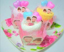 婚礼小毛巾蛋糕(CX-122)