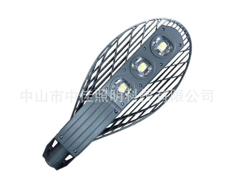led网拍路灯外壳 压铸集成路灯 100W灯具外壳