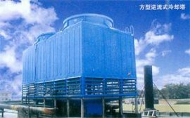 800吨逆流式方形冷却塔