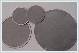 百通丝网--定做多层不锈钢金属包边滤片,直径5-400mm