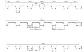 浙江压型板厂家YX38-152-914横装墙面板