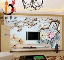 湖南专业生产艺术背景墙瓷砖背景墙艺术瓷砖玄关中式简约欧式复古厂家批发代理