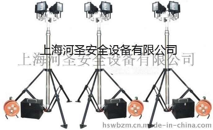 上海河圣供应便携式自动升降场地灯
