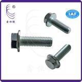廠家生產  產品 M8 六角法蘭國網螺絲 機器機械工業緊固不鏽鋼外六角螺絲