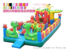 荥阳三和供应儿童游乐设备充气城堡