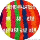 TPU、TPE、PP、PE塑料塑胶专用高温环保进口荧光粉荧光颜料