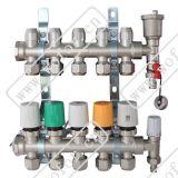 一体锻造无焊接无漏点高端大气分集水器