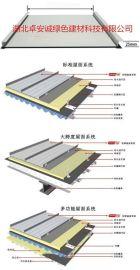 65-430直立锁边铝镁锰板金属屋面板价格