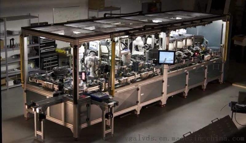 自动化装配线触摸屏显示器电子看板,生产线的触摸屏显示器电子看板,自动化装配线管理看板,装配线电子看板,装配线作业指导书看板