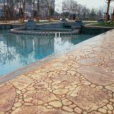 六盤水彩色壓花地坪|混凝土壓花地坪|壓模地坪|彩色透水地坪材料