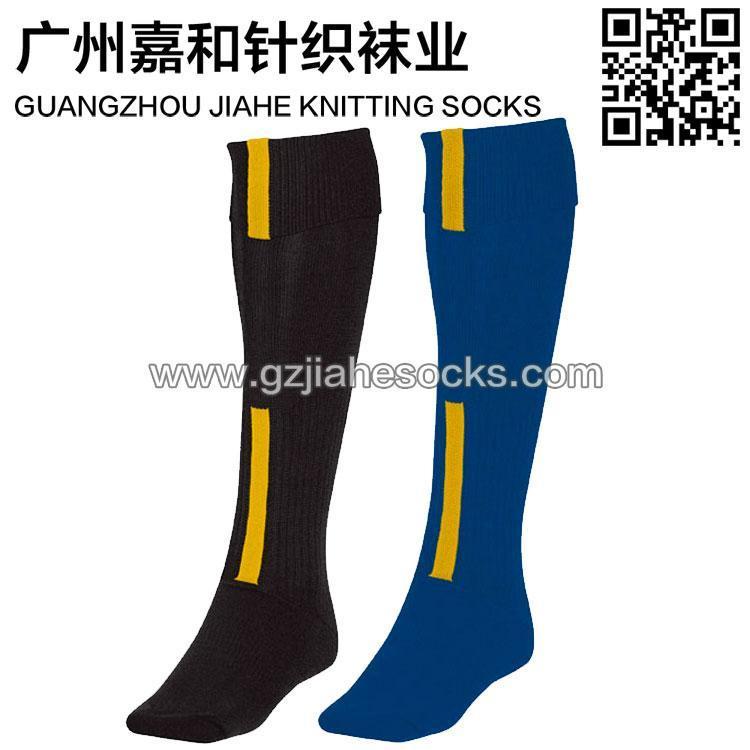 广州袜子加工厂加厚毛巾足球袜 休闲足球袜