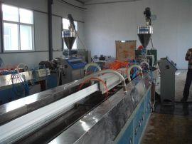 PVC塑料门窗型材生产线设备塑钢型材挤出机组高效**