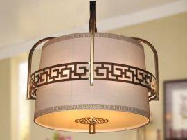 万柏新中式灯具铁艺吊灯,酒店会所、家装等照明装饰灯具 chandelier lighting