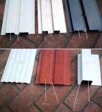 世茂大楼凹凸幕墙板 波浪型木纹长城板 50*50凹凸长城板