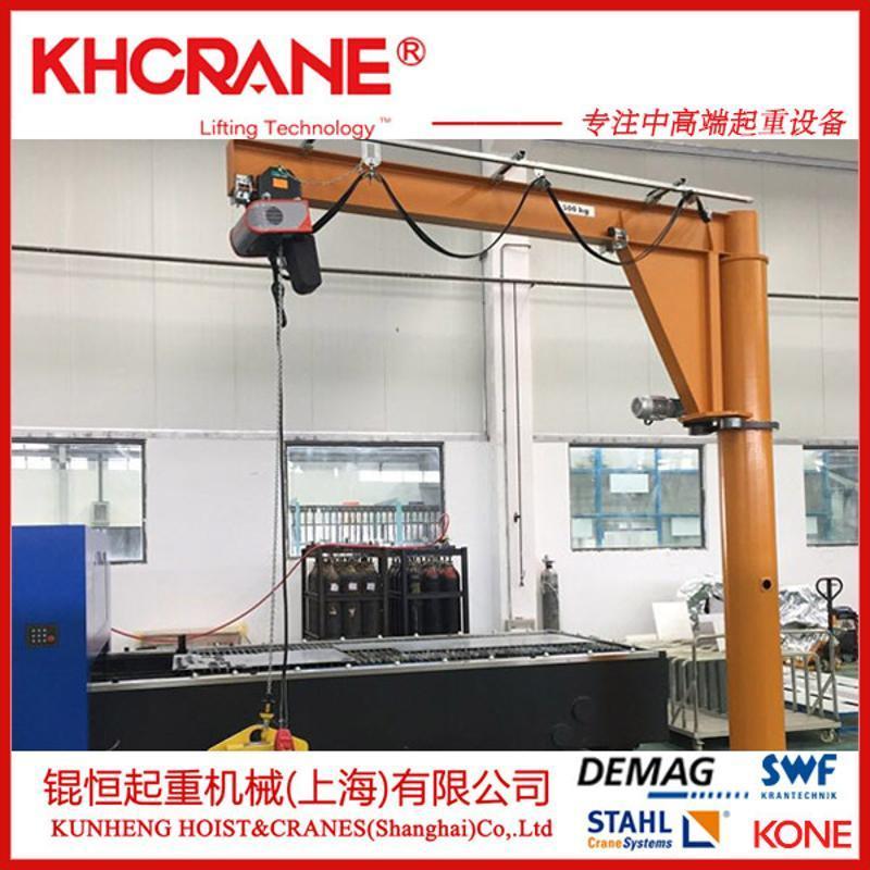 BZD0.5吨移动悬臂吊 定柱式旋臂起重机 移动悬臂吊 旋臂吊起重机