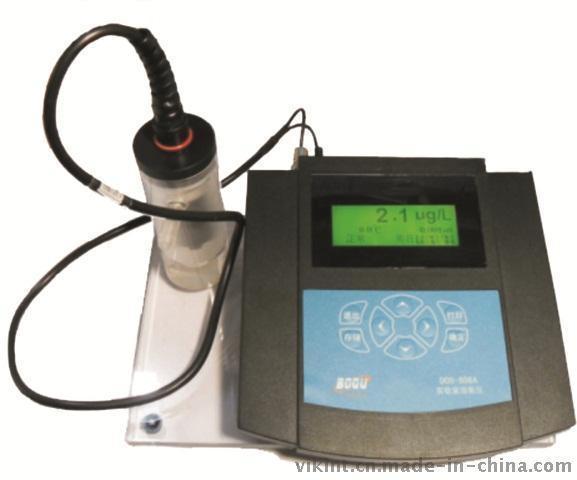 上海博取DOS-808A中文便携式溶解氧仪全中文显示多参数同屏历史数据带温补高智能连续监测仪