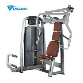 综合力量训练器 健身房**商用力量器械 坐式上斜推胸训练器