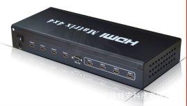 HDMI矩阵4×4 四进四出HDMI矩阵