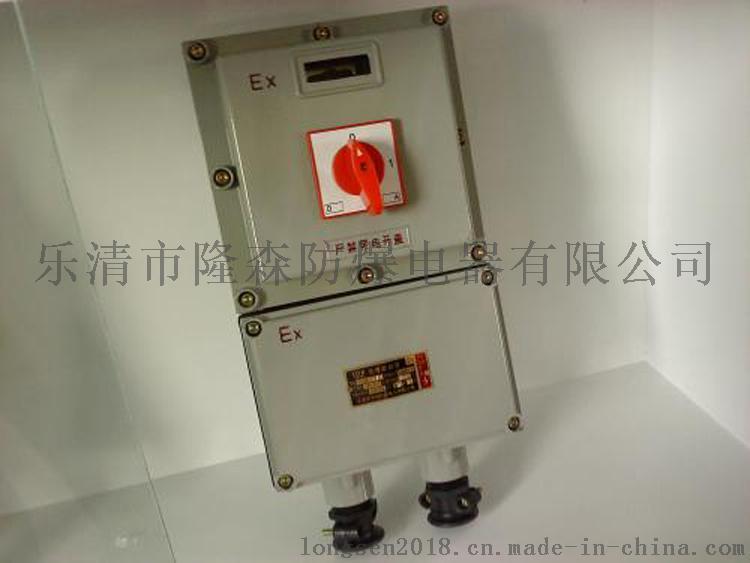 【隆森防爆】热销BDZ52防爆断路器 防爆控制箱 防爆电器 厂家直销