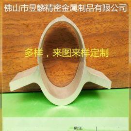 6063合金铝管型材  铝棒挤压型材成品圆管铝型材加工铝合金扁管
