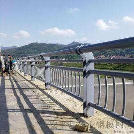 安康桥梁护栏栈道带扶手栏杆国标Q235桥梁护栏
