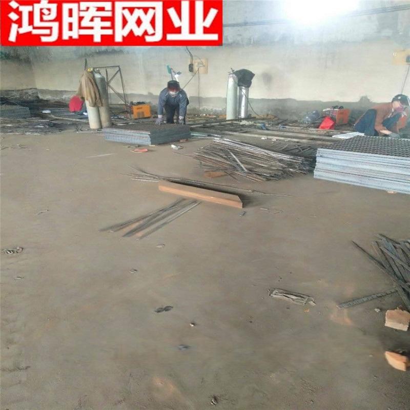 安平鸿晖热镀锌钢格栅板 电厂异型钢格板